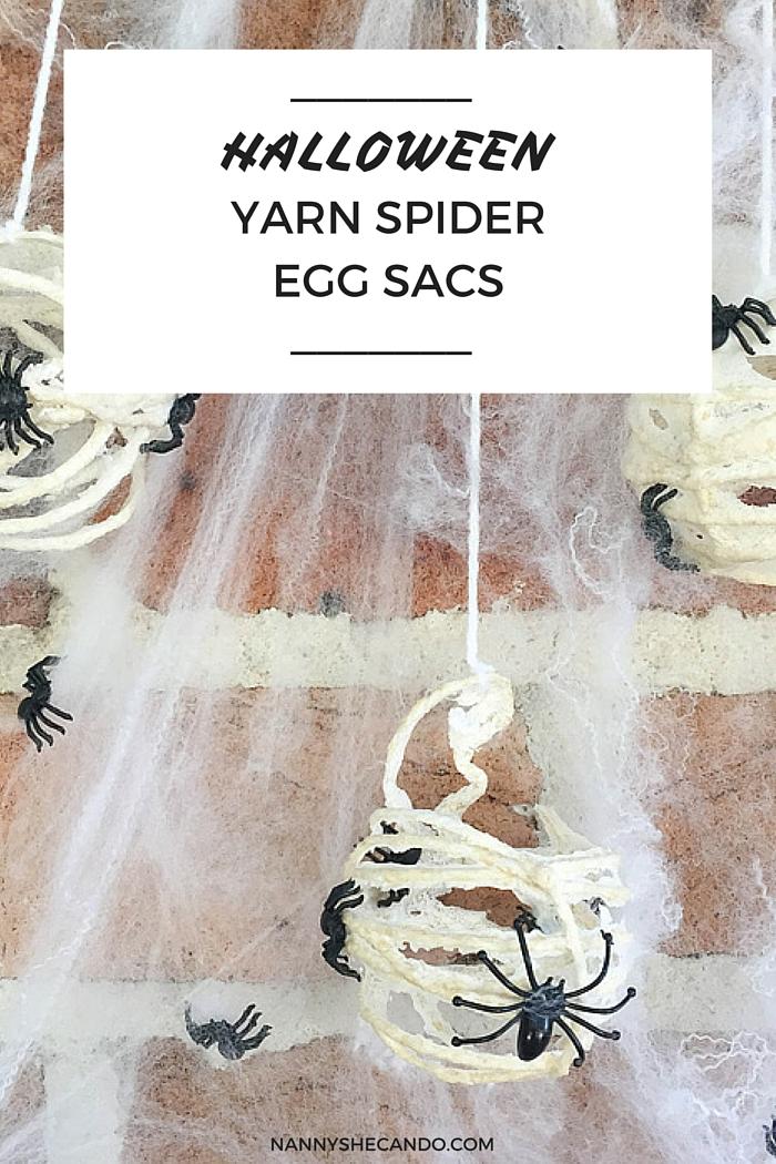 Halloween Decorations, Trick or Treat, Halloween, Halloween Yard Spider Egg Sacs, Olivia Foster, NANNY SHECANDO