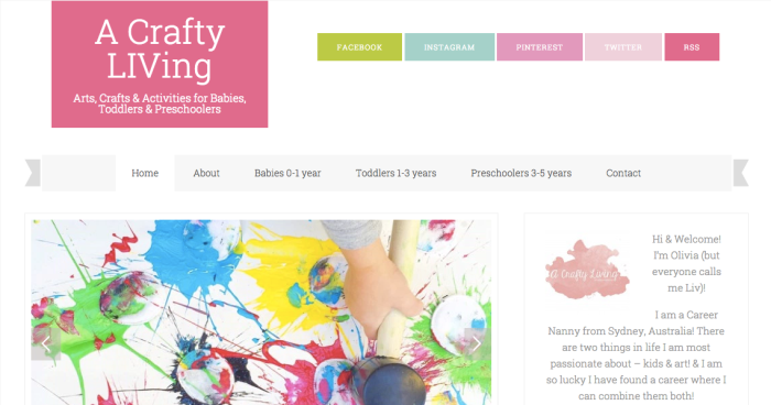 A Crafty LIVing.com, Olivia Foster, craftylivingkids, easy kids craft