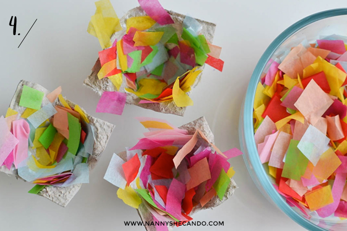 Mini Easter Egg Baskets