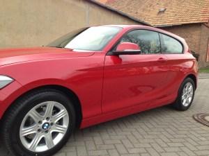 BMW Lackaufbereitung Nanotechnik Thüringen
