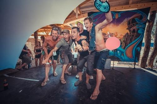 Peter Didgital, Regan, XP Voodoo, Raja Ram, and Tristan