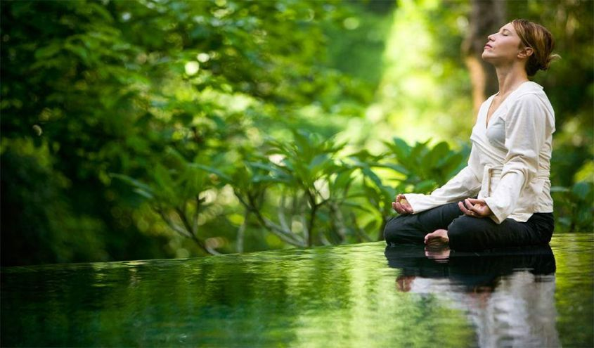 Image result for meditazione nella natura