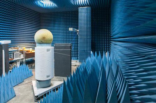 Radio Anechoic Chamber at Metamaterials Laboratory