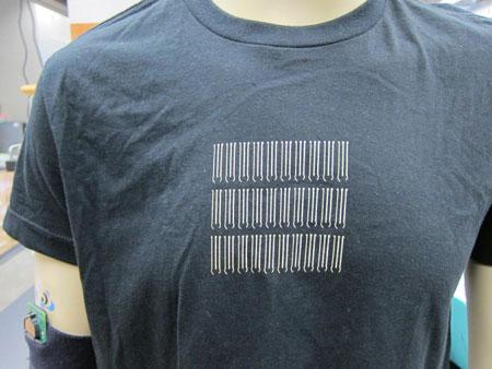 Garment-based printable electrodes developed