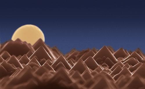 Rising Moon - nano-image