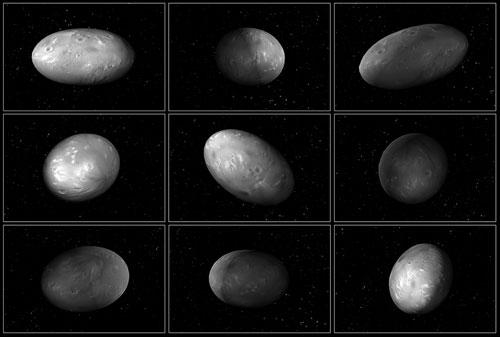Pluto's moon Nix