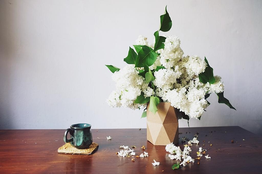 wazon geometryczny diy
