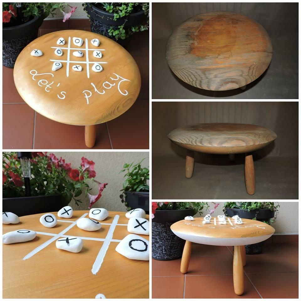 drugie życie stolika