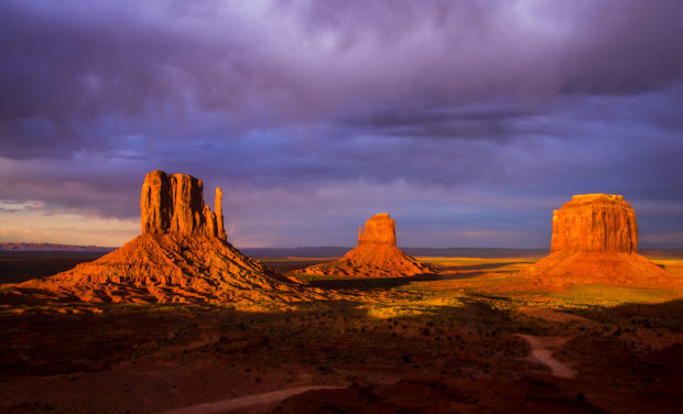The Mittens, Monument Valley.