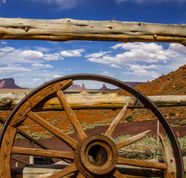 View of Monument Valley Tribal Park