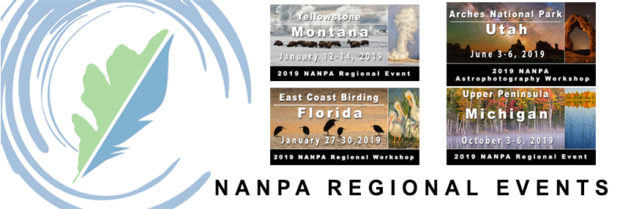 NANPA Regional Events cover a wide range of photographic opportunities.