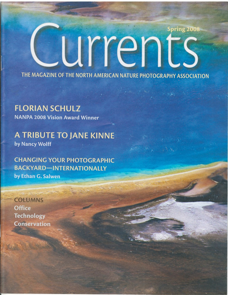 2008 Currents Spring Cover