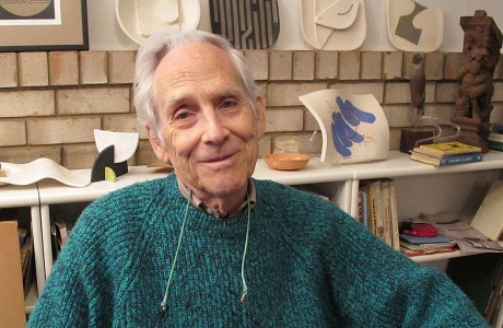 November 13, 2010. Bob Dunne in his home studio, Silver Spring, MD. Made following his interview for NANPA's oral history project.