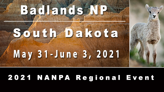 Badlands National Park, South Dakota, May 31 - June 3, 2021, 2021 NANPA Regional Event