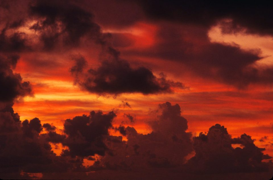 Florida skies offer dramatic sunrises and sunsets.