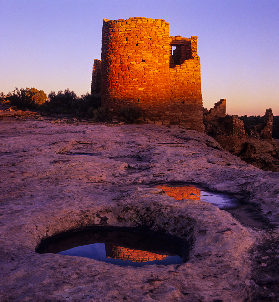 Hovenweep Tower in Hovenweep National Monument © Jerry Ginsberg