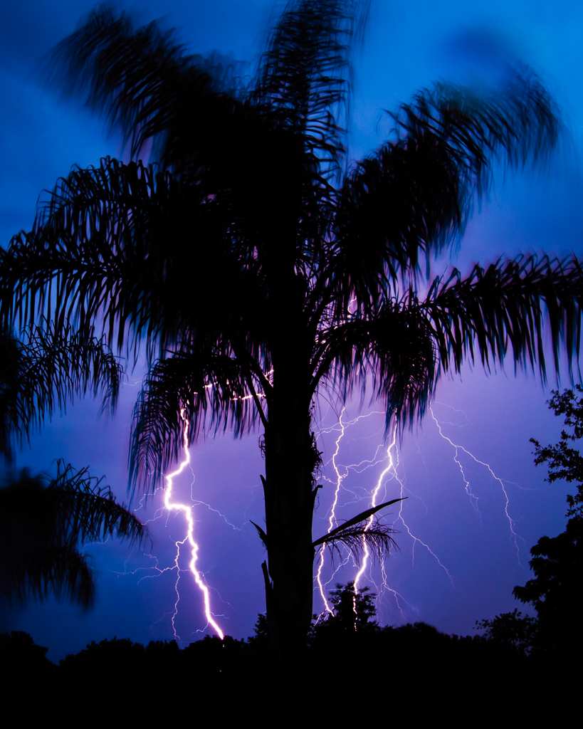 Long Exposure Lightning Shot, image by Steven Long