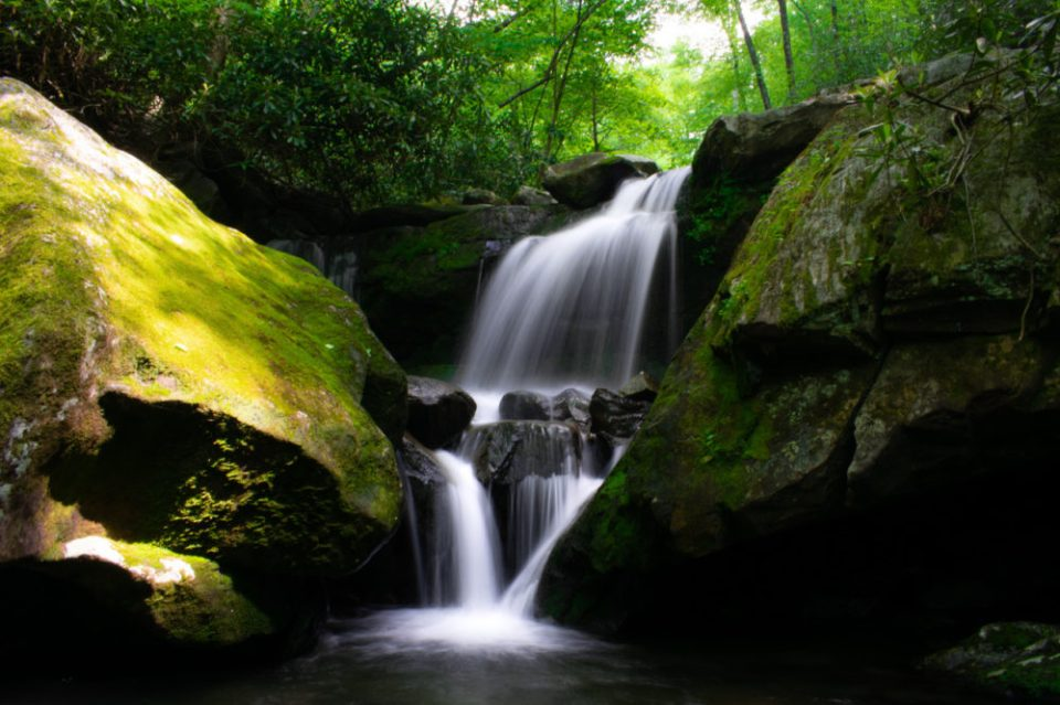 Waterfall, Great Smoky Mountains National Park © Jacob Eckels