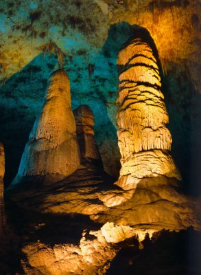 Big Room, Carlsbad Caverns.