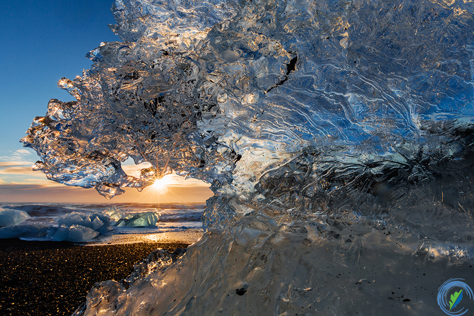 'Frozen Wave', Jokulsarlon Lagoon, Iceland © Jeremy Woodhouse