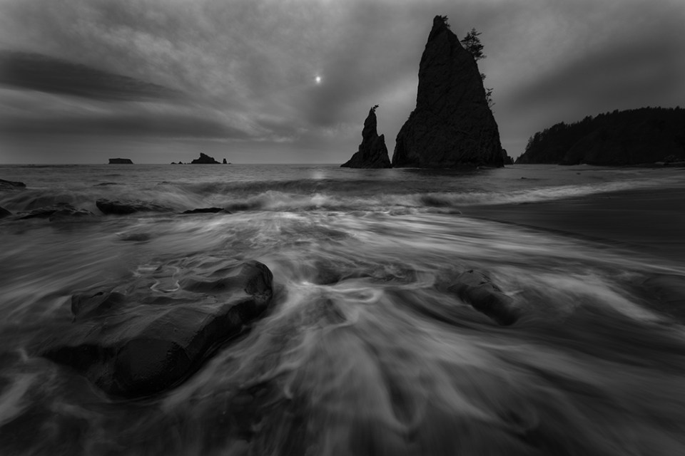 Rialto Beach by David DesRochers