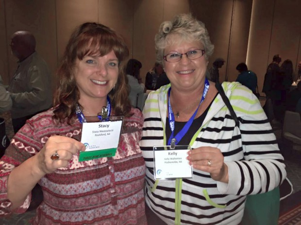Stacy Niedzwiecki and Kelly Walkotten at the 2015 NANPA Summit in San Diego.