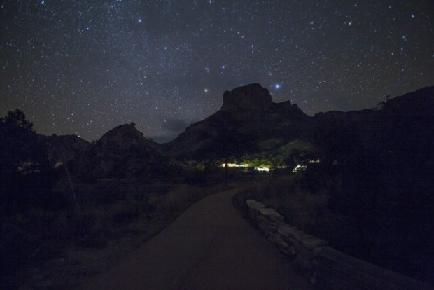 Stars at Big Bend National Park.