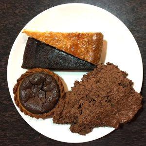 gateaux au chocolat au restaurant A la bonne heure à Nantes