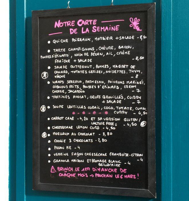 Le Sugar Blue café à Nantes : test du restau et du salon de thé