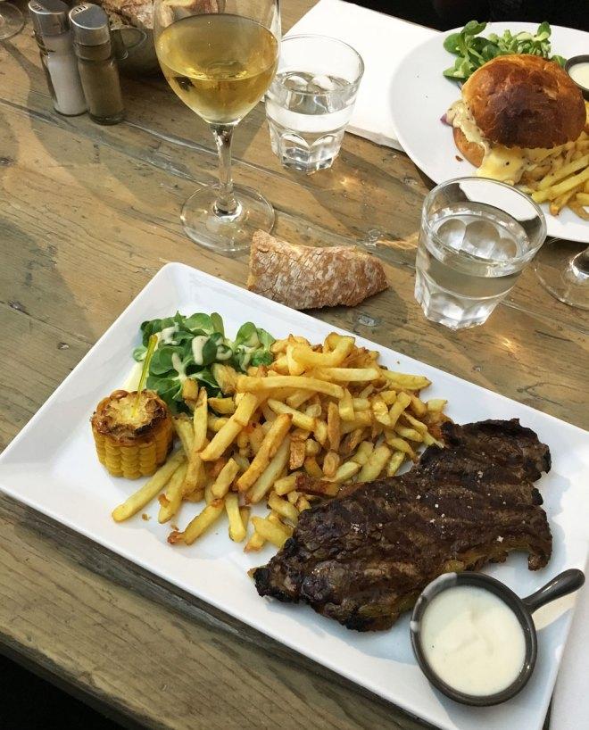 les plats du restaurant La Prison du Bouffay à Nantes