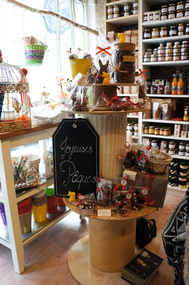 Des produits spécifiques pour les fêtes (ici Pâques)