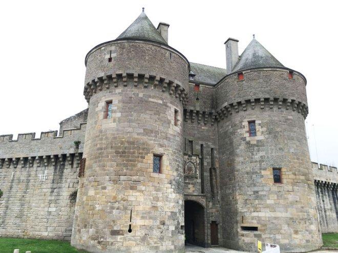 Les remparts de Guérande en Loire-Atlantique