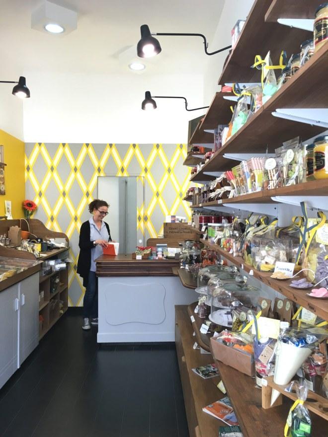Albert et Léontine, confiserie et magasin de bonbons, chocolats, confitures et autres gourmandises à Nantes