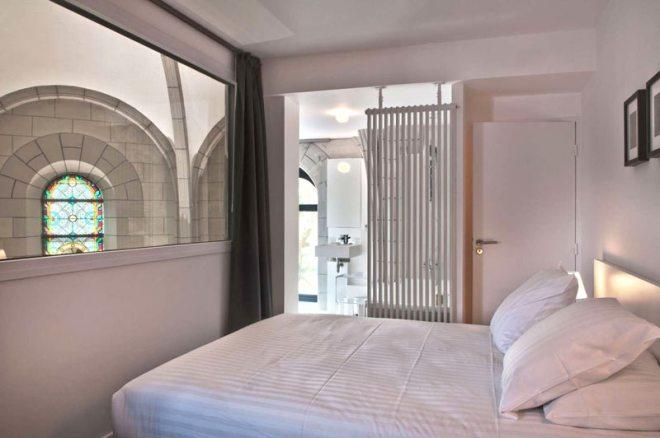 Une nuit à l'hôtel Sozo à Nantes, hôtel insolite aménagé dans une église