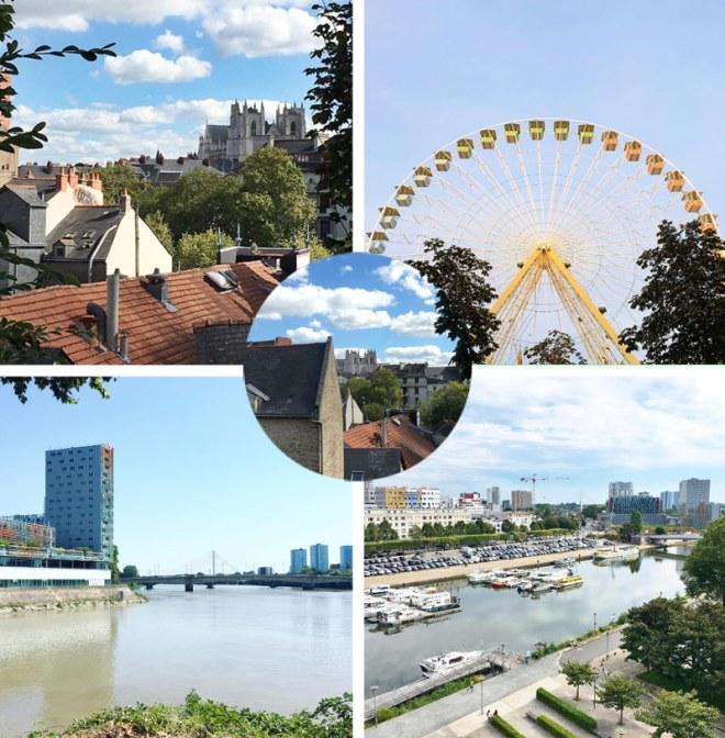 Vues de Nantes
