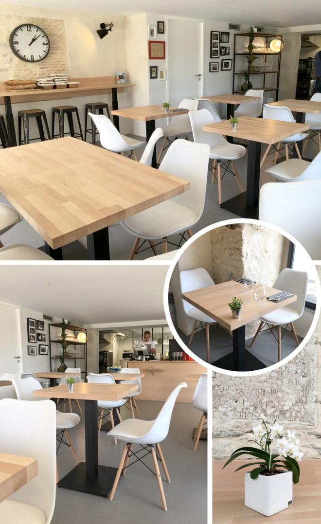 Le Robin's : restaurant au design scandinave à Nantes et bar à desserts chic