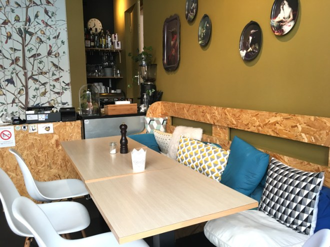 By Sainbioz Nantes : restaurant chic design et par cher à Nantes où manger de bons burgers bio