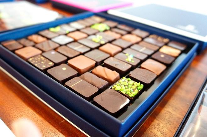Chocolats ganache à Nantes