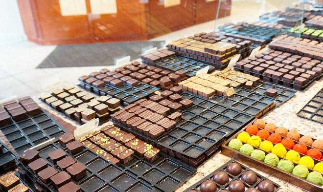 Chocolats artisanaux faits à Nantes par Castelanne