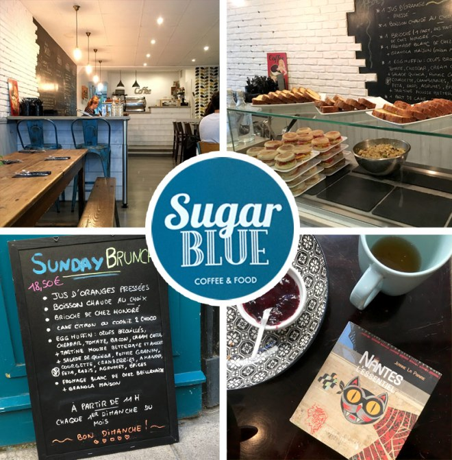Mon avis sur le brunch du sugar blue café à Nantes
