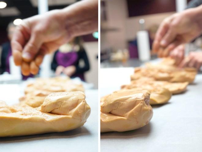 Cours de cuisine autour du foie gras