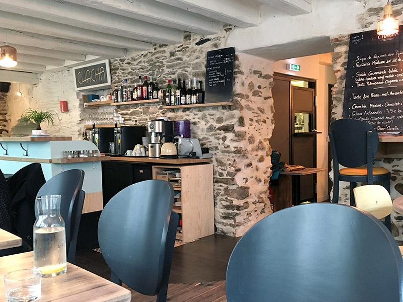 Chacha Nantes, restaurant rapide de spécialités maison, bio et souvent végan