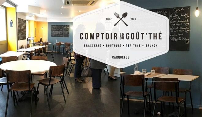 Le comptoir du Gou'thé à Carquefou près de Nantes