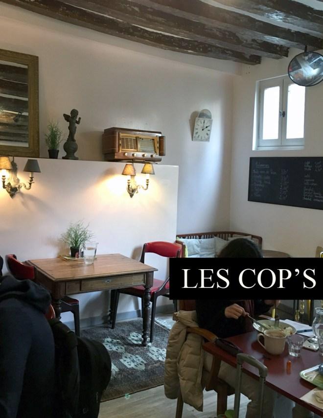 Les Cop's nouveau salon de thé et coffee shop à Nantes