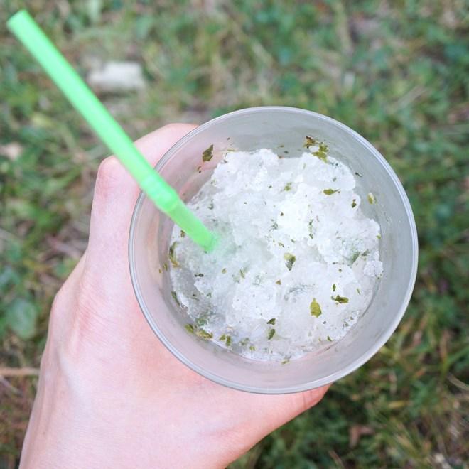 Granité sans alcool Cocktails d'Hadrien