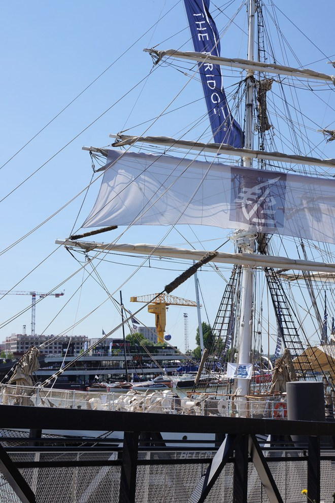 Le Belem, voilier nantais classé monument historique