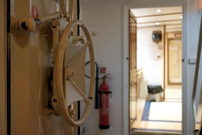 L'intérieur du Belem, voilier construit à Nantes