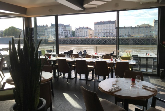 le bar-restaurant O deck à Nantes