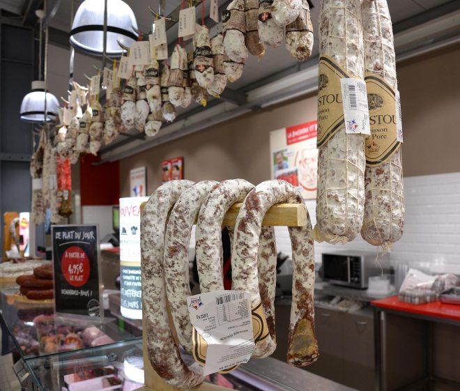 Boucherie-charcuterie à L'Heure du marché Nantes Orvault