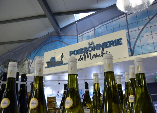 Poissonnerie à L'Heure du marché Nantes Orvault